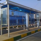 طراحی و ساخت ایستگاه اتوبوس