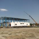 احداث طبقه دوم سلف دانشگاه آزاد ملارد