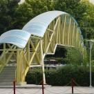 طراحی و ساخت پل عابر پیاده
